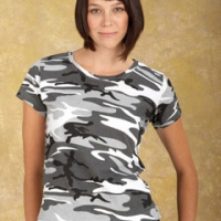 Logo Ladies Camoflage