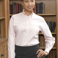 Logo Ladies Dress Shirts