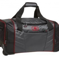 Embroidery on Ogio Duffle