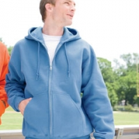 Personalized Gildan Fleece & Sweat Jackets