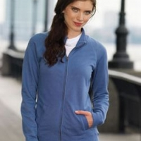 Embroidered Ladies Full-Zip