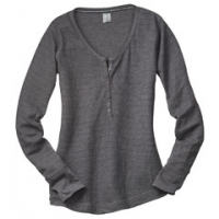 Personglized Logo Ladies Henley