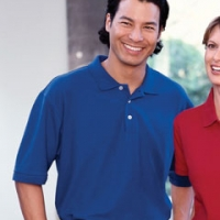 Logo Harriton Polo Shirts
