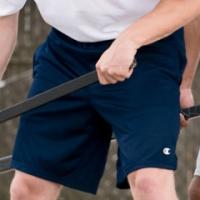 Monogrammed Champion Shorts