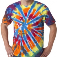 Embroidered Tie-Dye