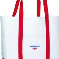 Personglized Logo Toppers Tote
