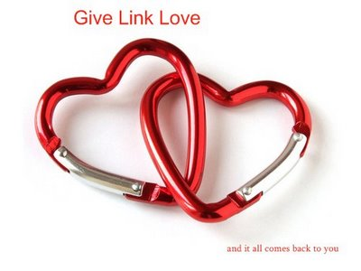 Link Love Chain Hearts
