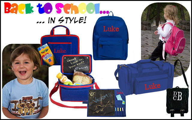 Back to School Gear by University Fashions