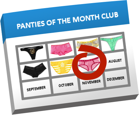 Panties of the Month Club