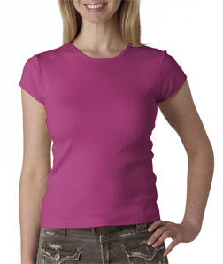 (1001br) Bella Ladies' Short-Sleeve Crewneck T-Shirt