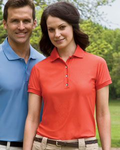13 Izod Ladies' Performance Golf Piqu Polo