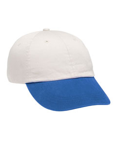(145a) Anvil 6-Panel Pigment-Dyed Twill Cap