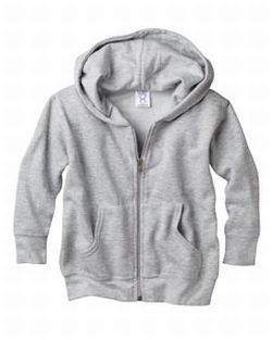 (3346a) Rabbit Skins Toddler's 7.5 oz. Full-Zip Hood