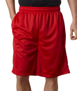 (7219br) Badger Adult Mesh Shorts