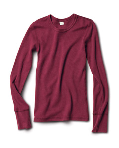 (aa5106a) Alternative Ladies' 4.7 oz. Long-Sleeve Thermal