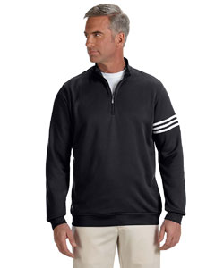 adidas Golf Men's ClimaLite 3-Stripes Pullover