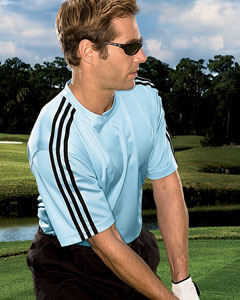 adidas Golf Men's ClimaLite 3-Stripes T-Shirt