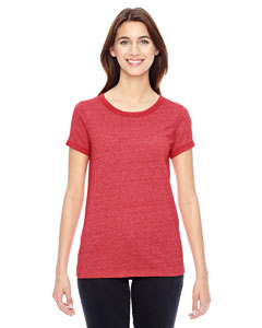 Alternative Ladies' Eco-Mock Twist Ideal Ringer T-Shirt