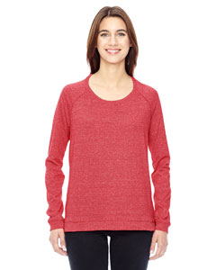 Alternative Ladies' Eco-Mock Twist Locker Room Pullover
