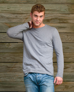 Alternative Unisex 3.7 oz. Joey Slub Long-Sleeve Crew