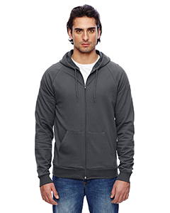American Apparel Unisex California Fleece Zip Hoodie