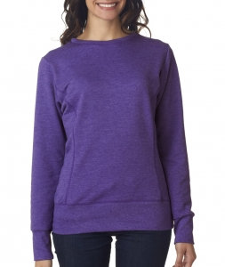 Anvil Ladies' Mid-Scoop French Terry Fleece