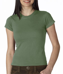 Anvil Ladies' Semi-Sheer Crewneck Tee