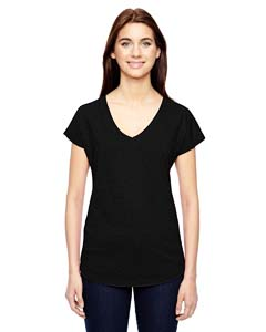 Anvil Ladies' Triblend V-Neck T-Shirt