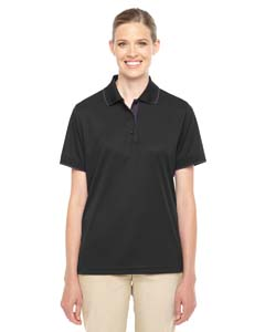 Ash City - Core 365 Ladies' Motive Performance Pique Polo with Tipped Collar
