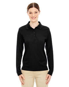 Ash City - Core 365 Ladies' Pinnacle Performance Long-Sleeve Pique Polo