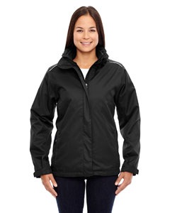 Ash City - Core 365 Ladies' Region 3-in-1 Jacket with Fleece Liner