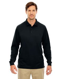 Ash City - Core 365 Men's Tall Pinnacle Performance Long-Sleeve Pique Polo