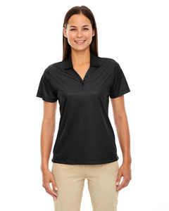 Ash City - Extreme Eperformance Ladies' Launch Snag Protection Striped Polo
