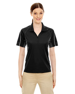 Ash City - Extreme Eperformance Ladies' Parallel Snag Protection Polo with Piping