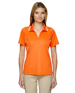Ash City - Extreme Eperformance Ladies' Propel Interlock Polo with Contrast Tape
