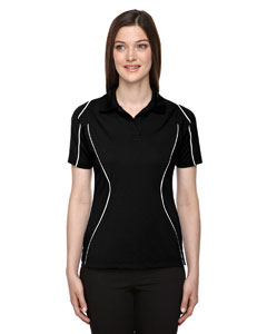 Ash City - Extreme Eperformance Ladies' Velocity Snag Protection Colorblock Polo with Piping