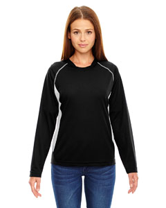 Ash City - North End Ladies' Athletic Long-Sleeve Sport Top