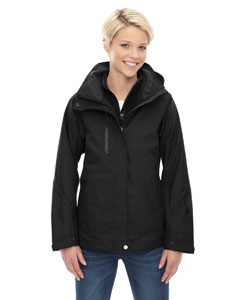 Ash City - North End Ladies' Caprice 3-in-1 Jacket with Soft Shell Liner