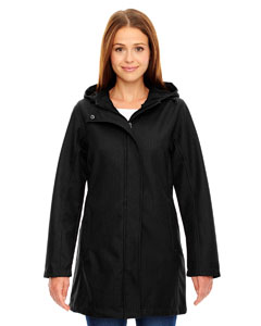 Ash City - North End Ladies' City Textured Three-Layer Fleece Bonded Soft Shell Jacket