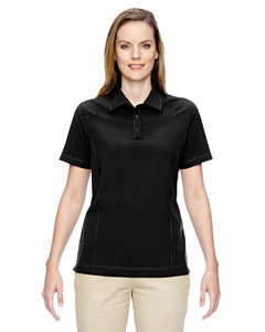 Ash City - North End Ladies' Excursion Crosscheck Woven Polo