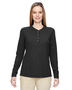 Ash City - North End Ladies' Excursion Nomad Performance Waffle Henley