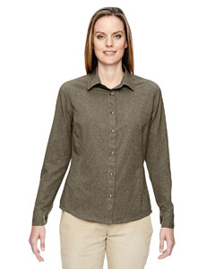 Ash City - North End Ladies' Excursion Utility Two-Tone Performance Shirt