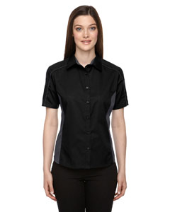 Ash City - North End Ladies' Fuse Colorblock Twill Shirt