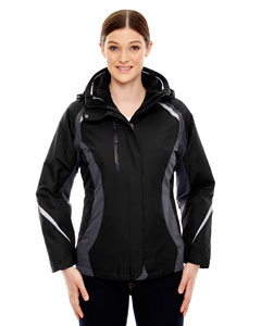 Ash City - North End Ladies' Height 3-in-1 Jacket with Insulated Liner