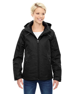 Ash City - North End Ladies' Linear Insulated Jacket with Print