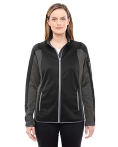 Ash City - North End Ladies' Motion Interactive ColorBlock Performance Fleece Jacket