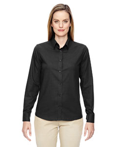 Ash City - North End Ladies' Paramount Wrinkle-Resistant Cotton Blend Twill Checkered Shirt