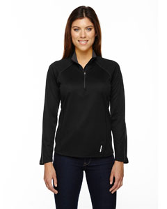 Ash City - North End Ladies' Radar Half-Zip Performance Long-Sleeve Top