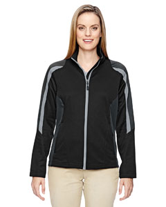 Ash City - North End Ladies' Strike Colorblock Fleece Jacket
