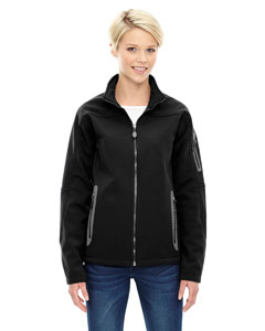 Ash City - North End Ladies' Three-Layer Fleece Bonded Soft Shell Technical Jacket